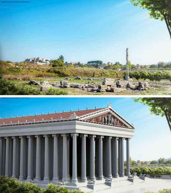 Maravilhas do Mundo na Atualidade - Templo de Ártemis