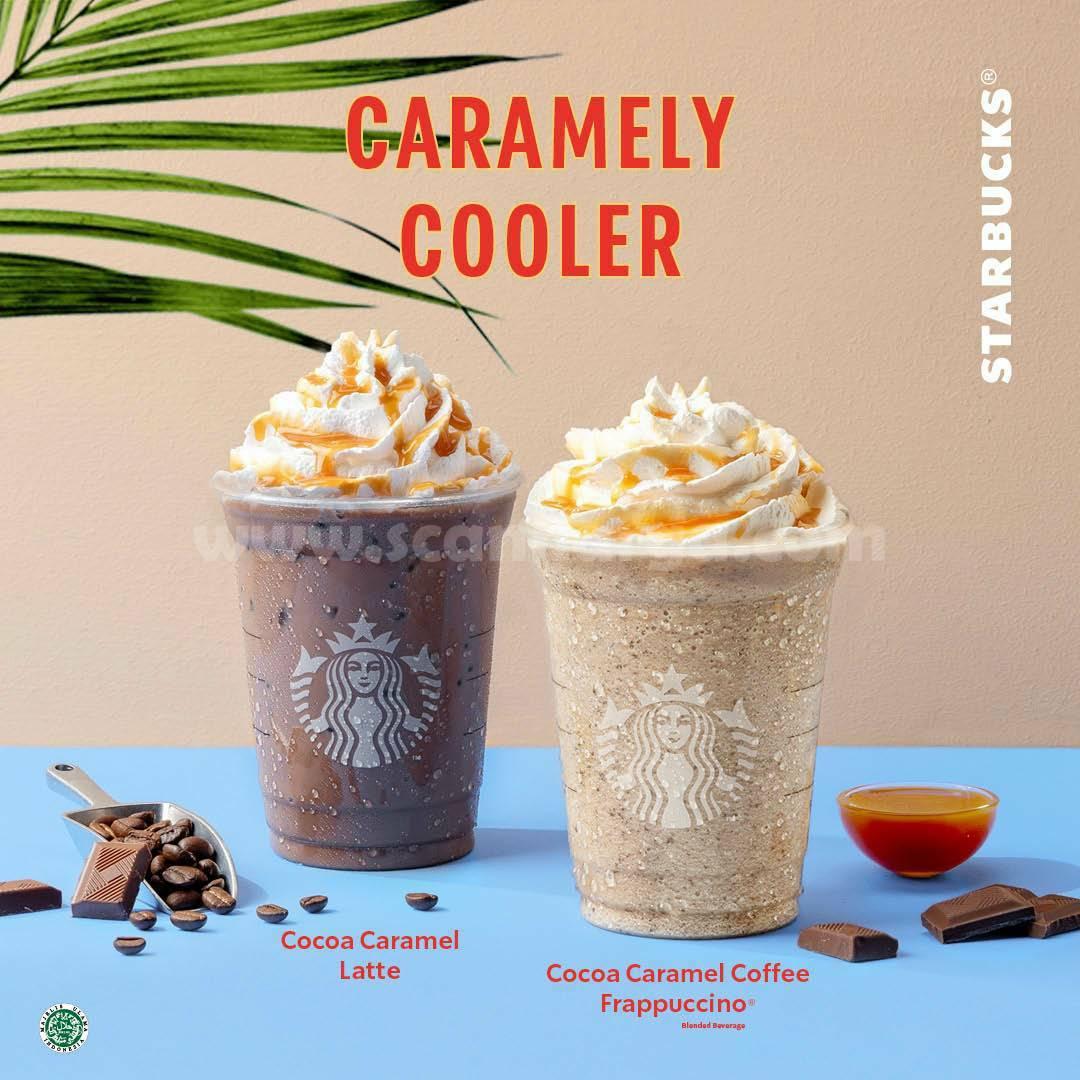 Promo STARBUCKS Creamy Cooler Diskon hingga 50%