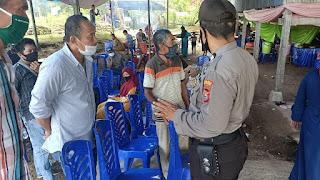 Binmas Polres Enrekang Tegaskan Perbup Nomor 42 ke Warga yang Sedang Pesta, Sekaligus Beri Himbauan