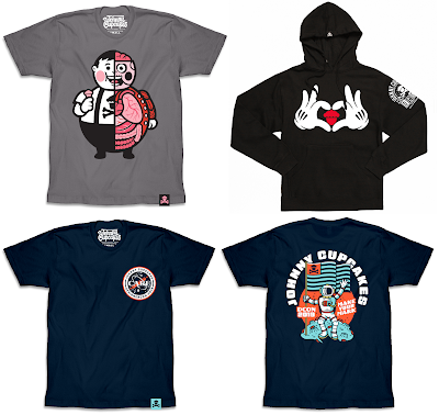 Designer Con 2019 Exclusive Johnny Cupcakes T-Shirt Collection