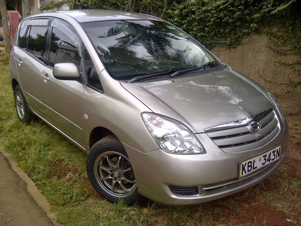TOYOTA SPACIO 2003 G SELECT 1500CC VVTI FRONT REAR CAMERAS 7 SEATER. ONE  OWNER,