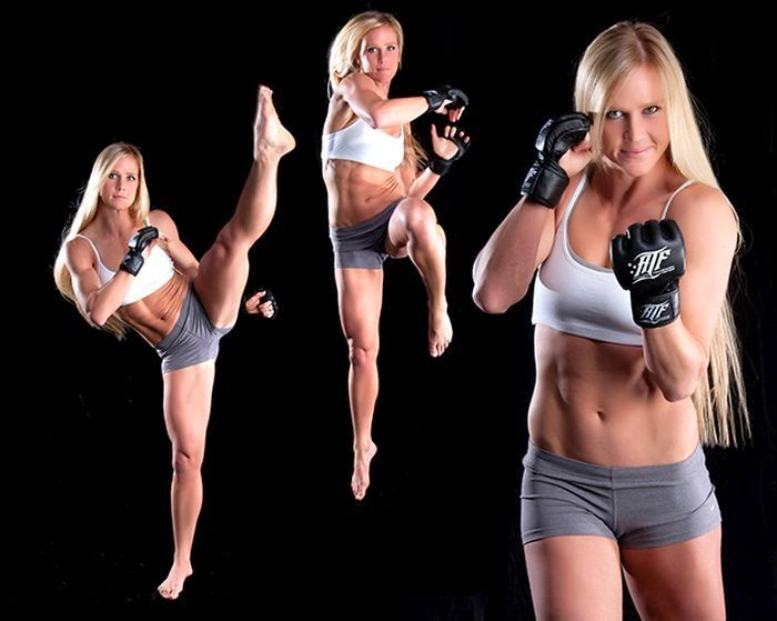 Holly Holm - mma woman fighter - woman mma fighter