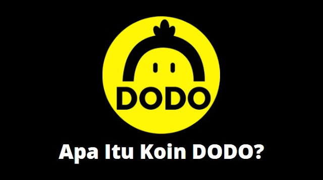 Gambar koin DODO Cryptocurrency