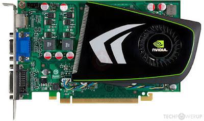 Nvidia GeForce GTS 240ドライバーのダウンロード