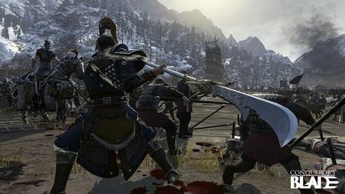 Conqueror's Blade đc khoác lên kiểu dáng lôi cuốn và người chơi