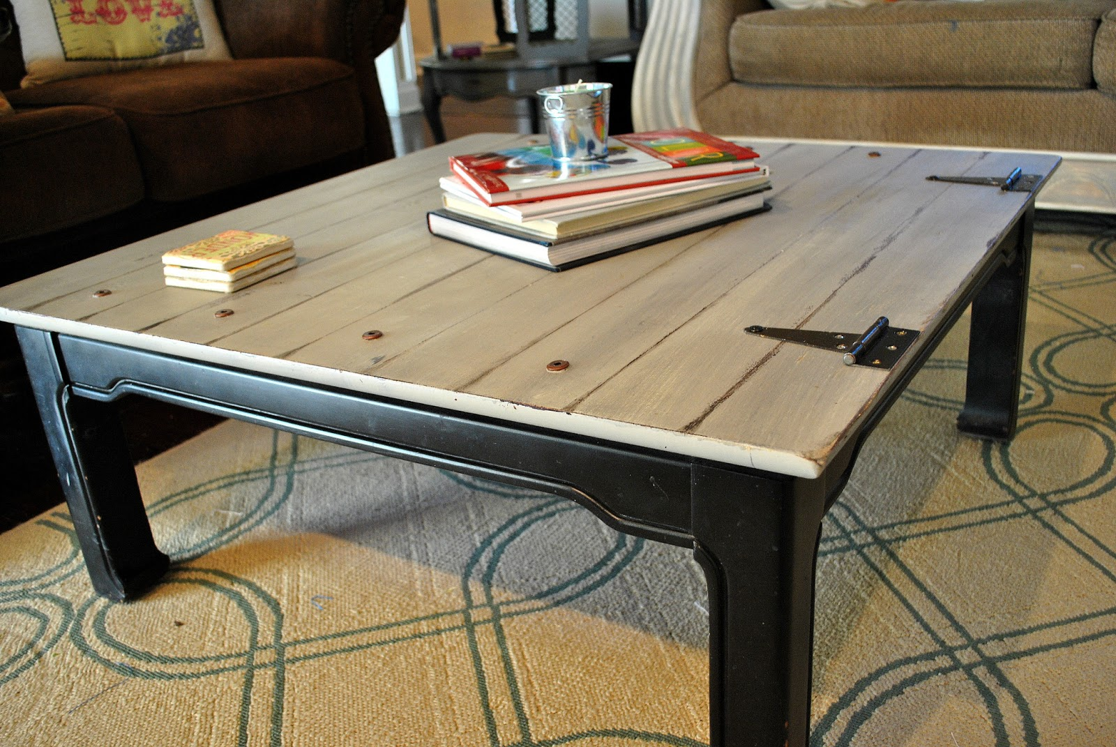 Preferred Amazing Grays: Industrial, Aged Coffee Table ReDo DX95