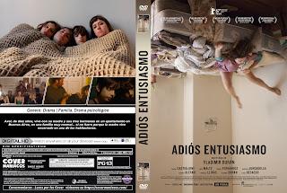 CARATULA ADIOS ENTUSIASMO 2017 [ COVER DVD]