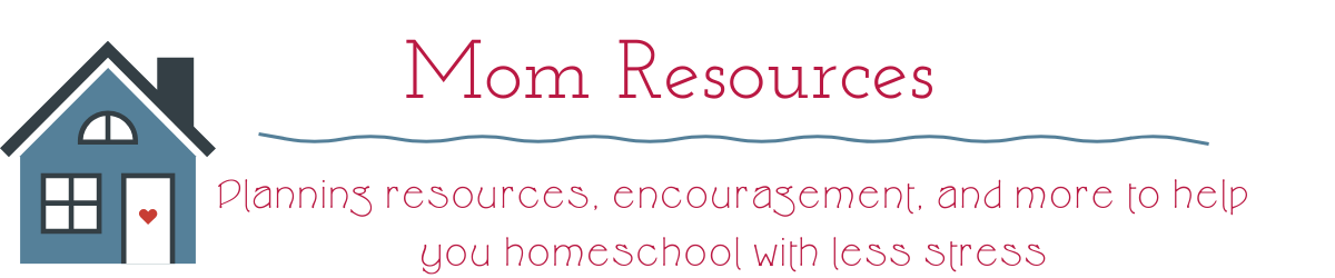 Resources to help moms homeschool simply