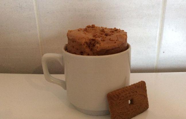 mug cake speculoos