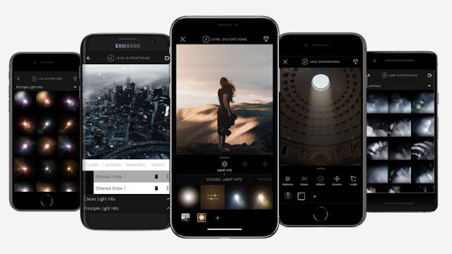 Lens Distortions Aplikasi Virtual Photoshoot