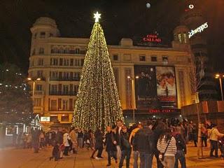 Hoy se encienden las luces de Navidad en Madrid