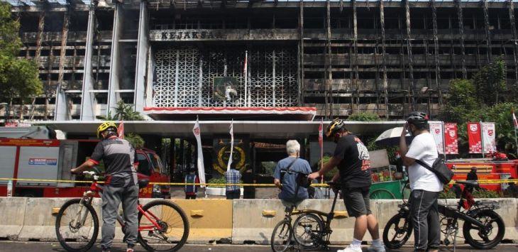 Periksa Puluhan Saksi Kebakaran Gedung Kejagung, Ini Hasil Investigasinya..