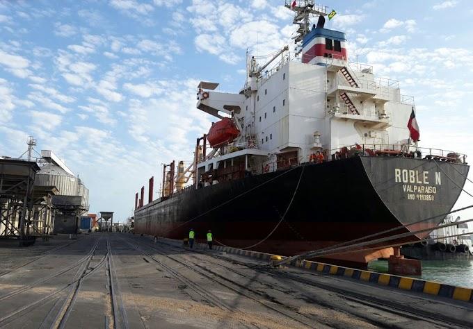 Movimentação de cargas no 1º bimestre de 2021 cresce 29,35% no Porto de Cabedelo