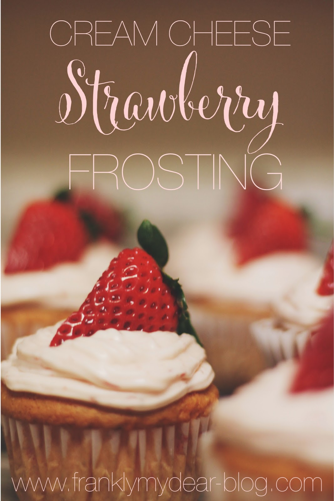Strawberry Cream Cheese Frosting {Recipe}