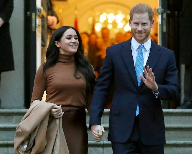 Harry and Meghan 'plan to launch TV and film production company' to fund new life