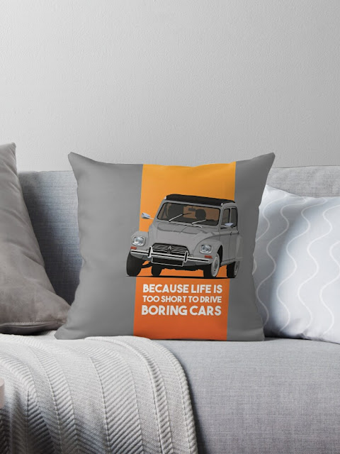 Because life is too short to drive boring cars - Citroën Dyane home decor