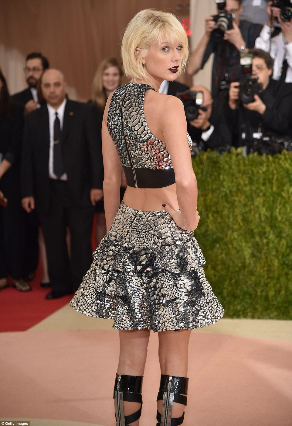 Taylor Swift is futuristic sexy for the Met Gala 2016
