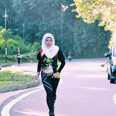 Berlari sebagai latihan pernafasan