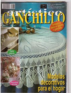 GANCHILLO ARTISTICO Nº 331
