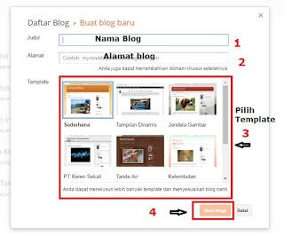 Cara Membuat Blog Pribadi Secara Gratis di Blogspot