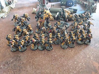 Battle Report – Genestealer Cult vs Space Marines