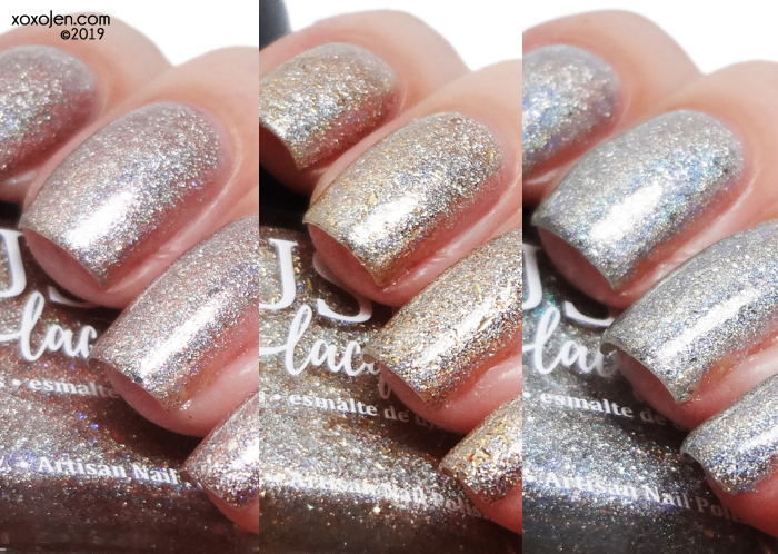 xoxoJen's swatch of Blush The Nutcracker Suite Trio