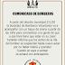► Cuarentena - Comunicado de Bomberos de Ranchos