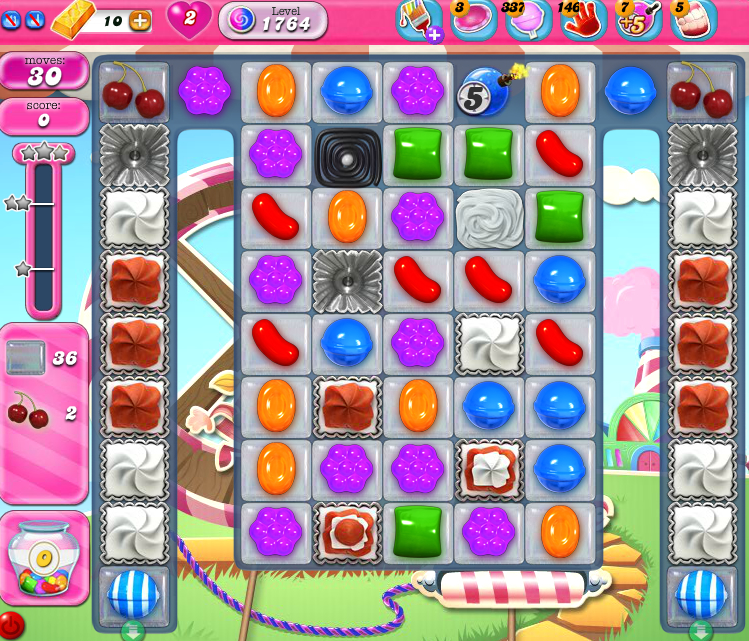 Candy Crush Saga 1764