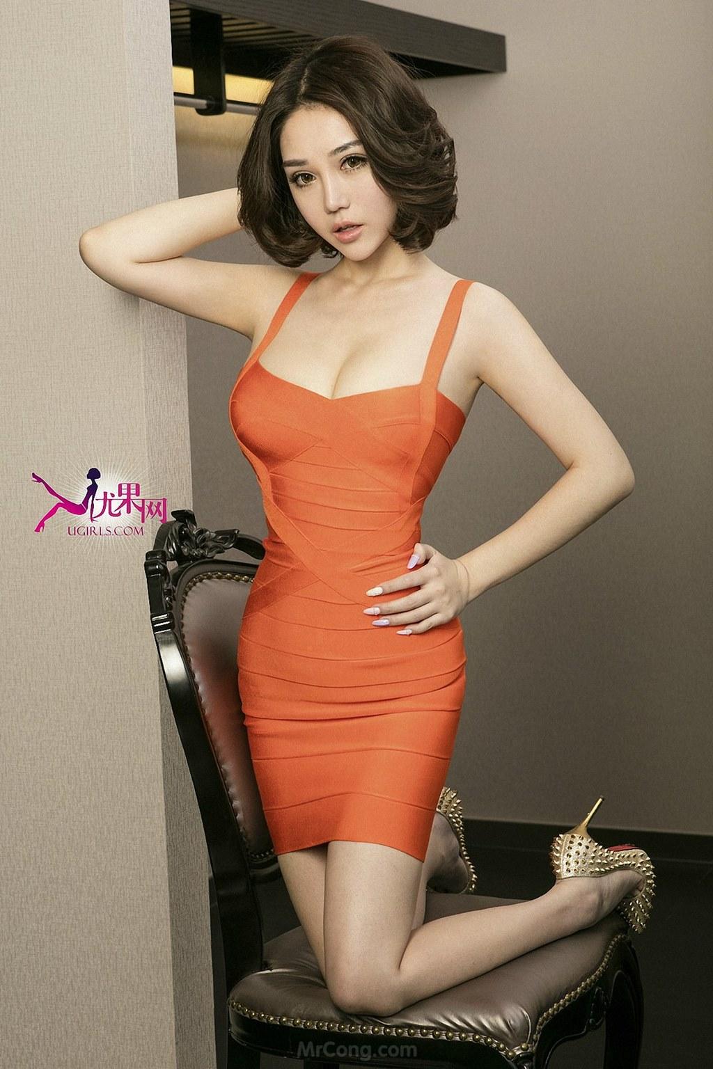 Image MrCong.com-UGIRLS-U146-Wang-Er-Lin-005 in post Mê mẩn với thân hình hoàn hảo của người đẹp Wang Er Lin (王尔琳) trong bộ ảnh UGIRLS 146
