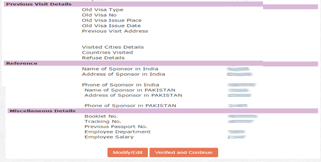 Online-Indian-Visa-Applicant-Verify-continue