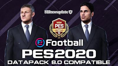 PES 2020 MyClub Legends Coach Pack by SoulBallZ