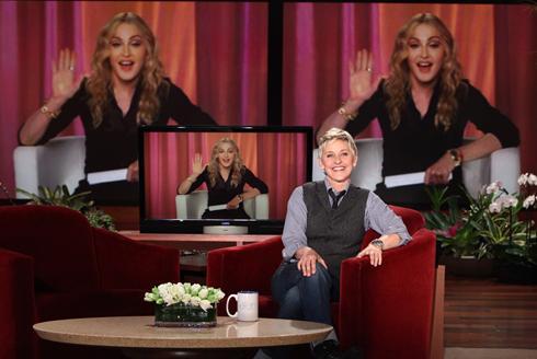 Madonna Extreme: November 9, 2010 // Madonna on 'The Ellen ...