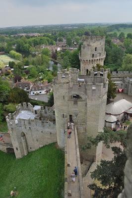 Castelo de Warwick na Inglaterra