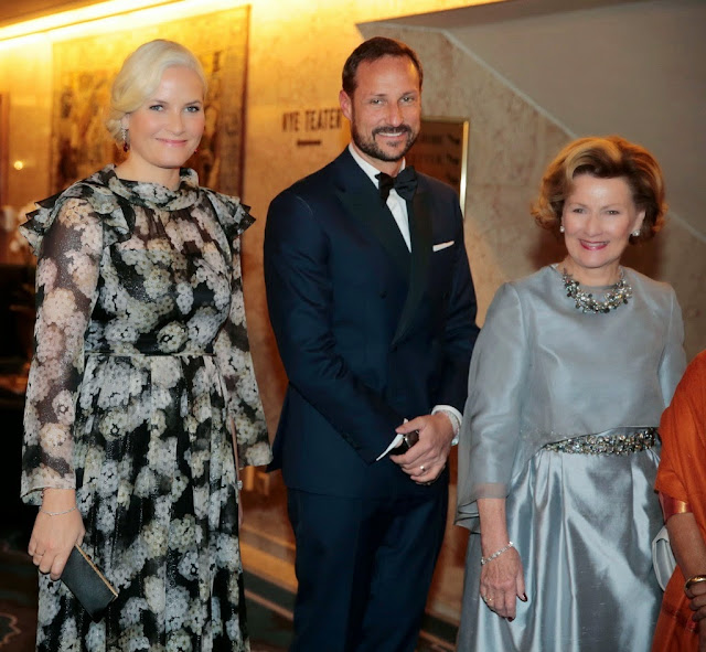 the royal family attended the gala dinner in honor of the Nobel Peace Prize
