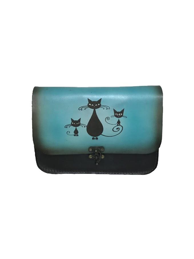 Figürlü kol çantası A1001