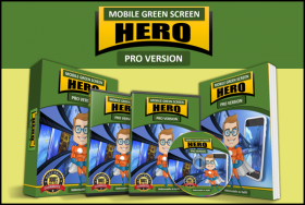 Mobile Green Screen Hero
