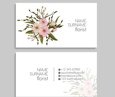 desain-kartu-nama-florist
