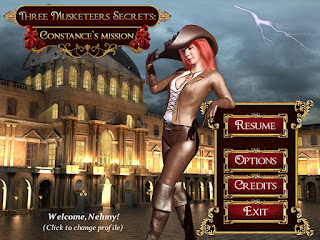 Three Musketeers Secrets Game