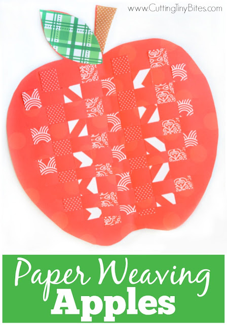paper weaving apples what can we do with paper and glue