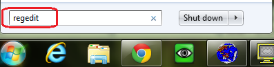 Add Google Chrome Shortcut to the Context Menu