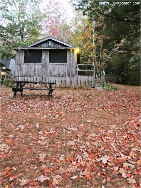 Cabañas en Maine: Lakeside Cedar Cabins