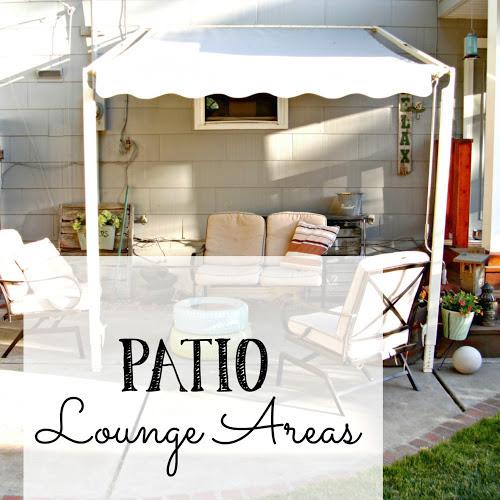 Patio Lounging Areas - Weekend Yard Work Series