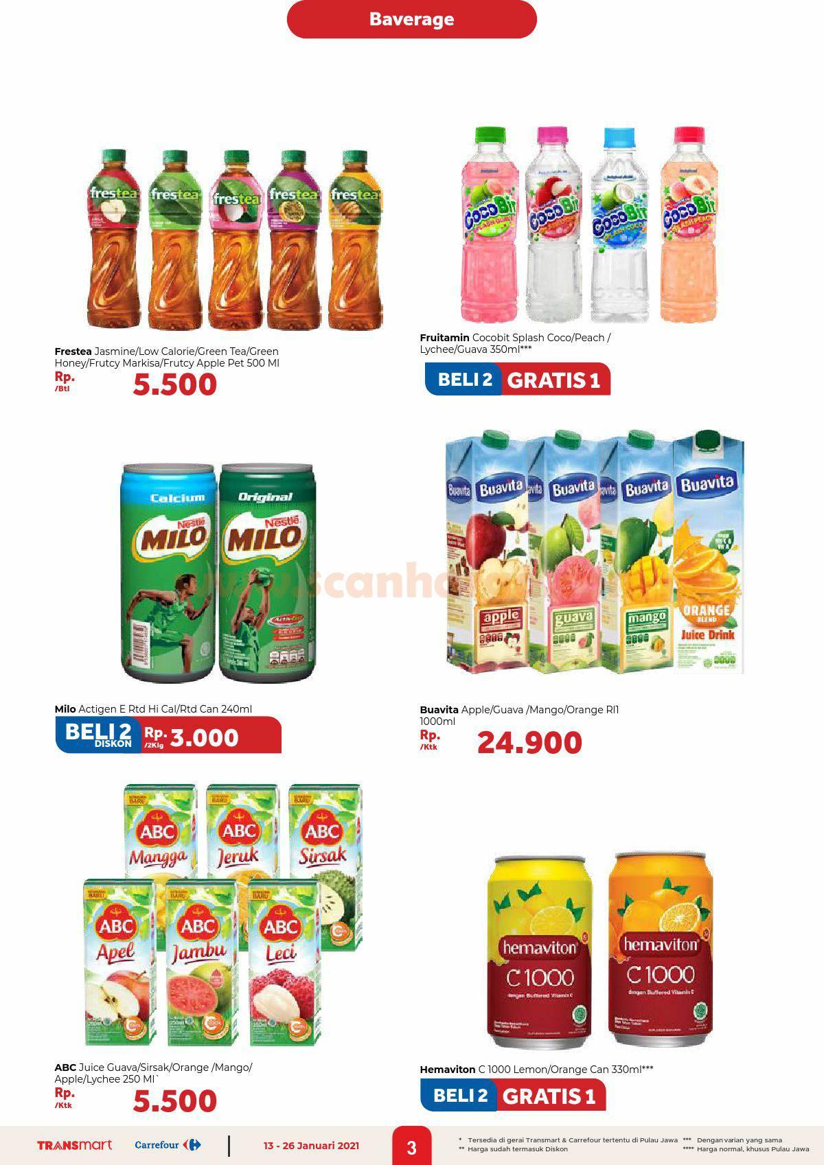 Katalog Promo Carrefour Transmart 13 - 26 Januari 2021 3