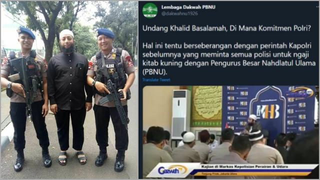 Akun Lembaga Dakwah PBNU Dicibir Usai Memprotes Polisi yang Undang Ustaz Khalid Basalamah