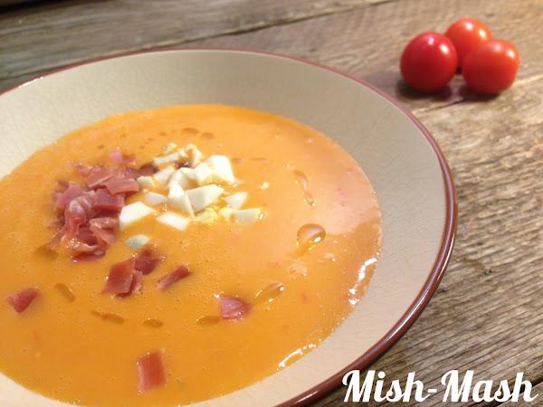 Испанска доматена супа /Salmorejo/