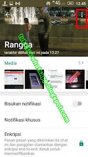 Cara Hapus Kontak WA Permanen