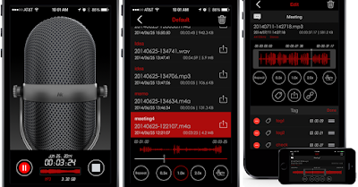 Awesome Voice Recorder app