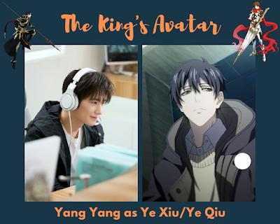 Yang Yang as Ye Xiu / Ye Qiu
