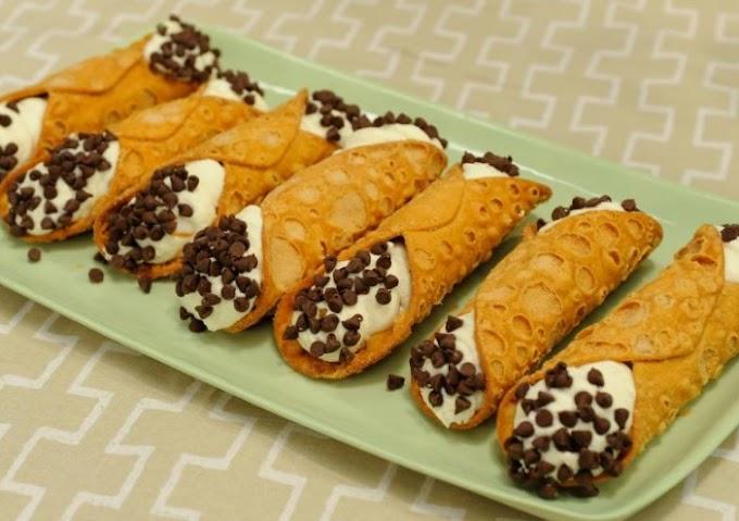 5-Ingredient Cannolis #desserts #easy