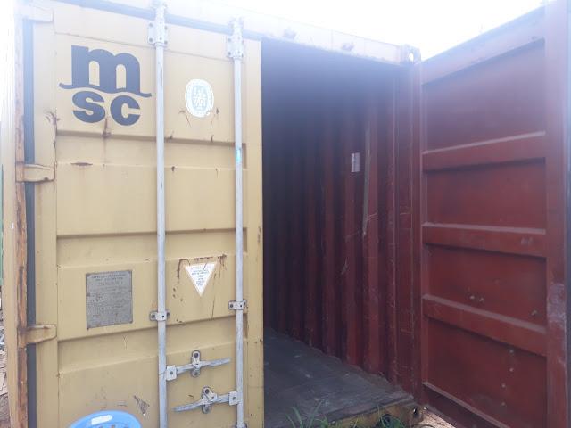 Thuê Container Tại Bến Lức Làm Kho